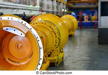 Plant for the production of quarry dump trucks. Finished products. Spare parts for autotrucks