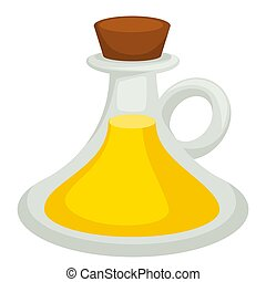 plant, olie, slaatje, vloeistof, kruiden, essentie,...