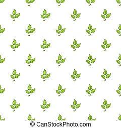 Plant pattern, cartoon style