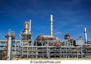 Plant Petroleum - Refinery Industry tank production...