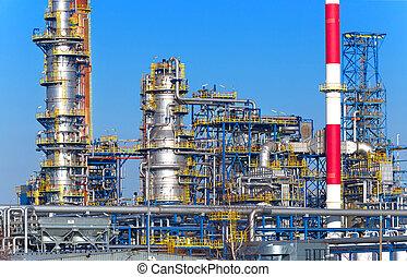 planta, óleo, gás