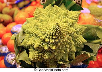 planta, fractal