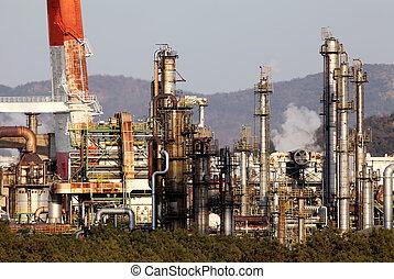 planta, industrial