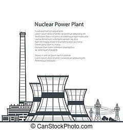 planta nuclear, poder, texto
