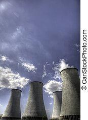 planta nuclear, potencia