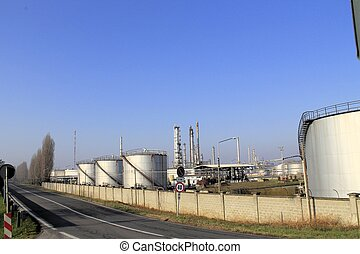 planta, petrochemical
