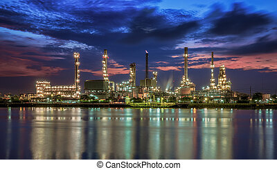 planta petrochemical
