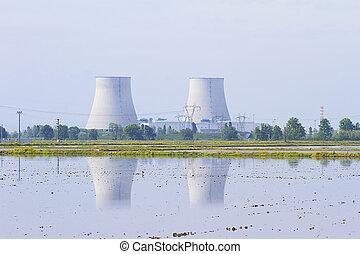 planta poder nuclear