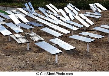 planta, renovável, energia, solar, sun-power, alternativa