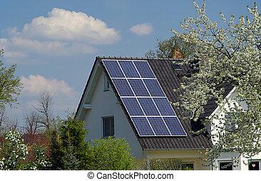 planta, solar, 22