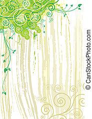 planta, textura, fundo
