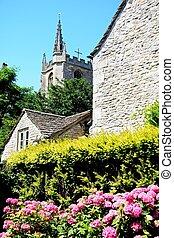 plantas, iglesia, castillo, combe.