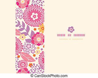 plantas, verão, padrão, quadro, seamless, morno, fundo,...