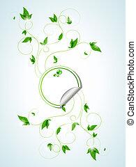 plantas, verde