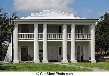 plantation, maison,  antebellum