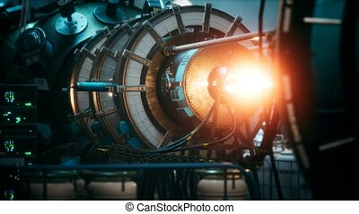 plante, futuriste, nucléaire, cyberpunk, thermonuclear, ...