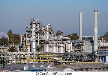 plante, industriel