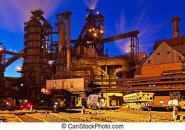 plante, metallurgical
