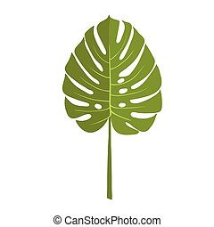 plante arri re plan vert monstera plante illustration illustration vectorielle. Black Bedroom Furniture Sets. Home Design Ideas