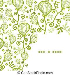 planten, onderwater, model, abstract, achtergrond, hoek, frame