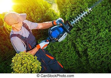 planten, werken, garneersel