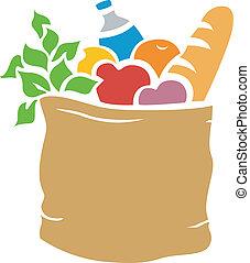 plantilla, comestibles