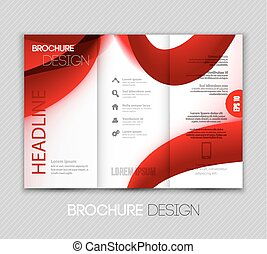 plantilla, resumen, plano de fondo, transparente, folleto, diseño fractal, onda