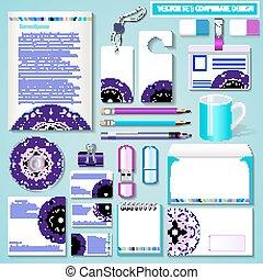 plantillas, diseño determinado, ilustración negocio