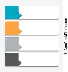 plantillas, vector, illustration., empresa / negocio,...