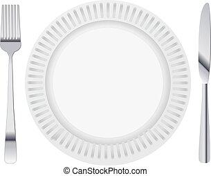 plaque, dinning