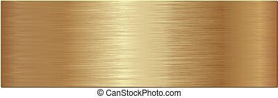plaque, gouden