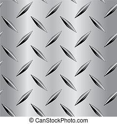 plaque, modèle diamant