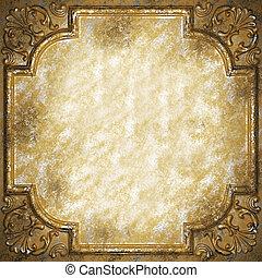 plaque, ornement, classique