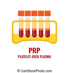 plaquette, tube médical, étagère, plasma, riche, affiche
