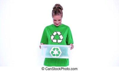 plas, środowiskowy, aktywista, dzierżawa