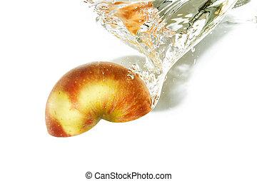 plaska, äpple