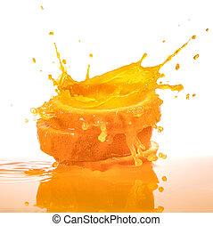 plaska, apelsinsaft