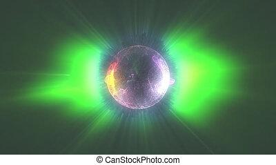plasma ball radioactiv