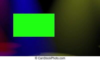 Plasma Spotlights Multicoloured - Animated, loop-ready,...