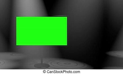 Plasma Spotlights White Loop HD