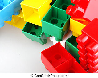 plast leksak, kvarter