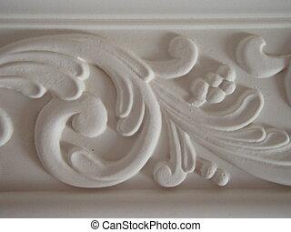 Plaster cast - Architecture - creation