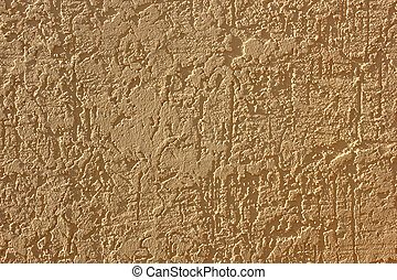 plastered wall with a flesh-colored furrows abstract texture background