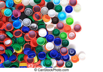 plastic background - rainbow background from different ...