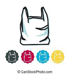 Plastic Bag - Icon