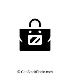 Plastic bag icon