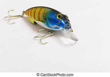 Plastic bait for fishing - wobbler