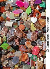 Plastic Bijoux Stones - Variety Mix Plastic Bijoux Gem ...