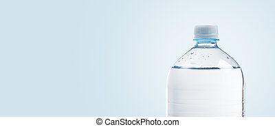 Plastic bottle background