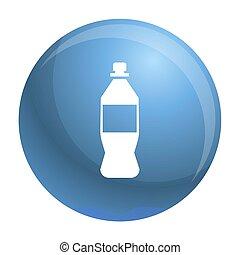 Plastic bottle icon, simple style - Plastic bottle icon....
